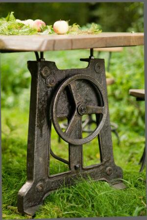 Stoły i podstawy stołowe industrialne