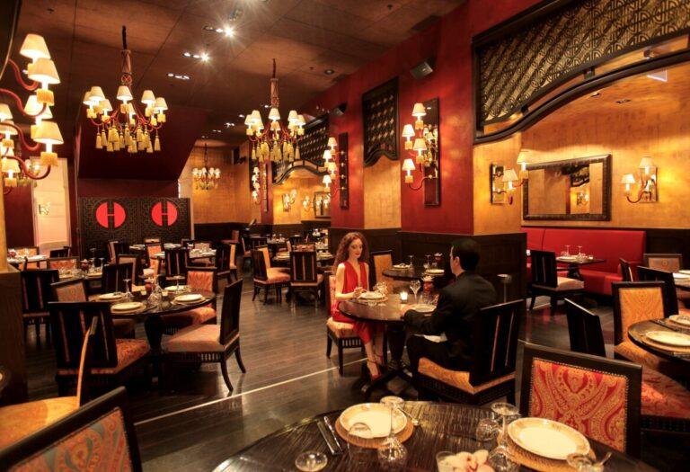 Jak wyodrębnić poszczególne strefy w restauracji?